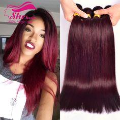 $101.20 (Buy here: https://alitems.com/g/1e8d114494ebda23ff8b16525dc3e8/?i=5&ulp=https%3A%2F%2Fwww.aliexpress.com%2Fitem%2F2014-New-alibaba-express-brazilian-straight-hair-wind-red-99j-brazilian-hair-weave-bundles-3pcs-free%2F1737897296.html ) 99J Brazilian Virgin Hair Straight 3Bundles 7A Burgundy Brazilian Hair weave bundles 99j Brazilian Straight Hair 100% Human Hair for just $101.20