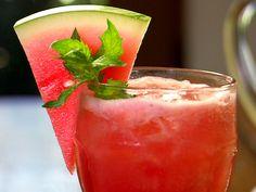 Watermelon Cooler Recipe : Food Network - FoodNetwork.com