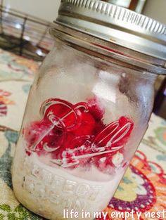 Raspberry Vanilla Overnight Oatmeal