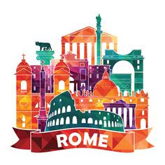 Find Rome Skyline Vector Illustration stock images in HD and millions of other royalty-free stock photos, illustrations and vectors in the Shutterstock collection. Thousands of new, high-quality pictures added every day. Rome City, City Icon, Skyline Art, Travel Icon, Illustration, World Cities, Instagram Highlight Icons, Vintage Travel Posters, Instagram Story