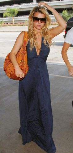 Jessica Simpson Jfk Airport In New York City July 23 2008