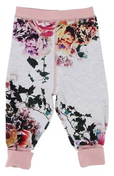 Molo 'Aop' Cuff Jersey Sweatpants (Baby Girls) available at #Nordstrom