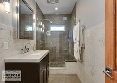 This Bathroom Remodel Was Part Of A Multi  Room Remodel Designed Pleasing Bathroom Remodel Boston Design Inspiration