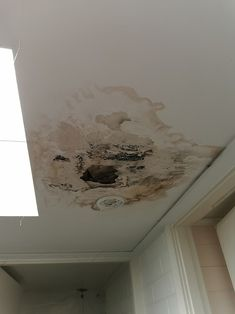Mould on the ceiling in a property