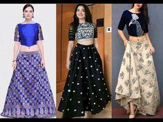 Latest Lehenga choli Designs with Links Choli Designs, Blouse Designs, Lehenga Choli, Anarkali, Latest Kurti, Girls Blouse, Ethnic Dress, Designer Gowns, Trendy Tops