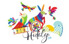 Branding proposal for 2014 HIDALGO State Fair.- - The concept was to create a concept based on the Tenango embroidery (Traditional from the state of Hidalgo) linking the aesthetic essence of traditional art with contemporary elements, a vibrant color pa…