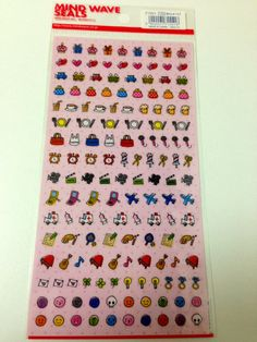 tiny sticker for your schedule planner by KawaiiTokyo on Etsy