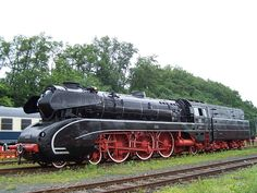 The steam locomotives of DB Class 10 were express train locomotives with the Deutsche Bundesbahn in Germany after the Second World War. They were nicknamed 'Black Swans' ('schwarze Schwäne') as a result of their elegant shape.