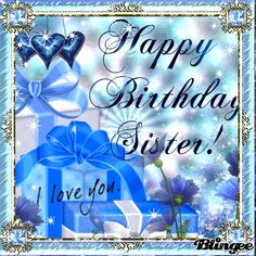 Looking for for ideas for happy birthday sister?Browse around this site for perfect happy birthday inspiration.May the this special day bring you happy memories. Happy Birthday Beautiful Sister, Beautiful Birthday Quotes, Happy Birthday Quotes For Him, Happy Birthday Typography, Happy Birthday Best Friend, 50th Birthday Quotes, Happy Birthday Cards, 21 Birthday, Happy Birthdays
