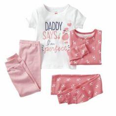 "Carter's ""I'm Perfect"" Poodle Pajama Set - Baby"