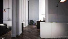 Rénovation moderne en préservant le caractère atypique et  les origines Haussmannienne de ce lieu.