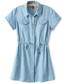Blue Short Sleeve Drawstring Snowflake Print Dress US$29.33