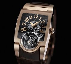 De Grisogono gold tourbillon