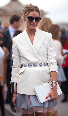 Olivia Palermo in Dior
