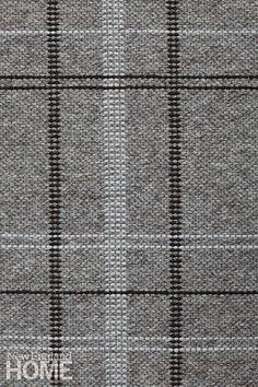 Slater in Dark Gray - Undyed Dark Gray, Thin Felted Chocolate, and Thin Felted Pumice - Customizable with all yarn colors. Merida Available through 375 Middlesex Tpke. Teal Carpet, Diy Carpet, Rugs On Carpet, Carpet Ideas, Wall Patterns, Textures Patterns, Fabric Patterns, Fabric Rug, Fabric Wallpaper