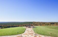 Oh what a view from this fire pit area belong to a rustic log & timber frame home.