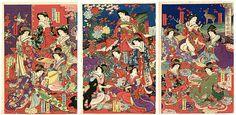 豊原周延: List of Noble Ladies — Shoka Okugata Hime-gimi Kan - Japanese Art Open Database