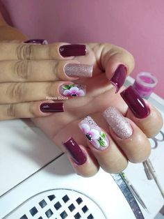 Beauty, Food, Gorgeous Nails, Work Nails, Fingernail Designs, Natural Nails, Long Nails, Feet Nails, Essen