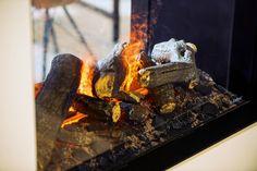 Homeplaza: Kaminofensimulation – Echtes Flammenerlebnis ohne Kaminanschluss Court Yard, Save Energy, Patio, Yard