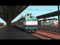 ZSSK 350 013 9 EC Avala with ZS Bc in station Nové Zámky - YouTube Train, Youtube, Strollers, Trains, Youtube Movies