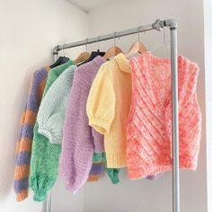 Free Knitting, Knitting Patterns, Pastel Room, Knit Fashion, Crochet Clothes, Knitwear, Knit Crochet, Inspiration, Diys