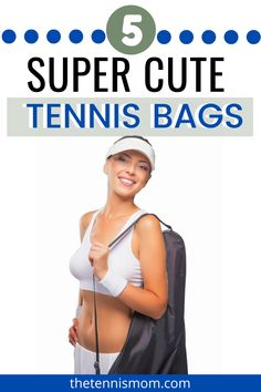 The 5 Best Tennis Bags for Women in 2020 - The Tennis Mom Tennis Bags, Tennis Gear, Sport Tennis, Tennis Dress, Tennis Clothes, How To Play Tennis, Tennis Funny, Tennis Workout, Tennis Players Female