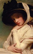 Emma Hamilton who gave birth in 1801 to the illegitimate daughter of Lord Horatio Nelson. The Regency Era Timeline. (Are you a RAPper or a RAPscallion?)