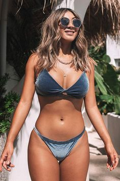 A bikini kinda life is closer than you think.And it comes with FREE shipping! Sexy Bikini, Bikini Girls, Bikini Tops, Cheeky Bikini, Black Bikini, Bikini Bottoms, Thong Bikini, Honeymoon Swimsuit, Summer Outfits