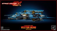 Strike Vector: The Vector by Alexandre Ferra | Transport | 3D | CGSociety