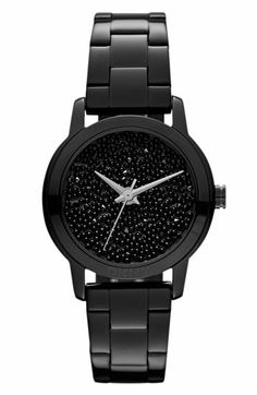 DKNY Pebble Crystal Dial Watch available at Nordstrom