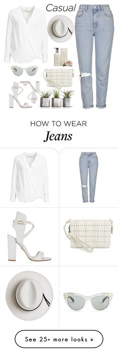 """Casual"" by jovana-p-com on Polyvore featuring Topshop, By Malene Birger, Vince Camuto, Paul Andrew, Cochine Saigon, Calypso Private Label and Gucci"