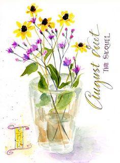 South Carolina LowCountry Nature Journaling and Art: Wildflowers