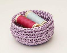 Crochet Basket #Etsy