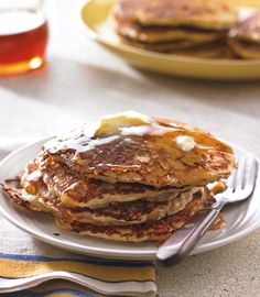 The subtle crunch of cornmeal gives johnnycakes appealing texture and a bit of heft. Our version, embellished with crisp bits of bacon and sharp cheddar cheese and served with honey or syrup, makes...