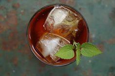 Rooibos-Anise Hyssop Sun Tea Growing anise hyssop in garden, & lemon balm