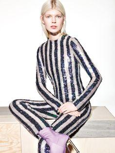 Publication: Vogue China Collections April 2015 Model: Ola Rudnicka Photographer: Richard Burbridge Fashion Editor: Franck Benhamou Hair: Vi Sapyyapy Make-up: Isamaya Ffrench