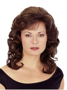 Brown Cheapest Shoulder Length Synthetic Wigs