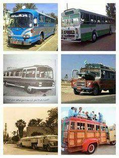 تاريخ باصات النقل في العراق بالصور