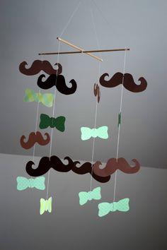 Mustache mobile...love.