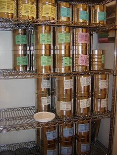 Simple site with food storage ideas.