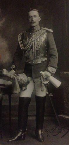 Sir Morgan Crofton, 2nd Life Guards, 1907.