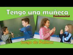 MUSIQUINO (Educación Musical Infantil y Primaria): JUEGOS DE PALMAS I High School Spanish, Elementary Spanish, Spanish Class, Spanish Lessons, Teaching Spanish, Elementary Schools, Spanish Activities, Hands On Activities, Karaoke