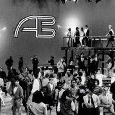 American Bandstand was on every Saturday.