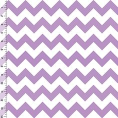 Radiant Orchid Chevron on White Cotton Jersey Blend Knit Fabric - we might need to give this a try on some t-shirts.