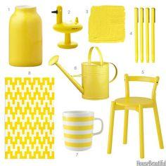House Beautiful Yellow