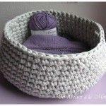Crochet facile corbeille Ideas for 2019 Chat Crochet, Crochet Wool, Crochet Amigurumi Free Patterns, Crochet For Kids, Irish Crochet, Diy Crochet, Crochet Doilies, Crochet Hats, Crochet Ideas