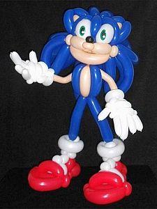 Snow White Characters, Sonic Birthday Parties, Balloon Face, Balloon Cartoon, Balloon Decorations, Balloon Ideas, Balloon Animals, Ballon, Creative Crafts