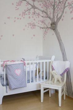 baum kinderzimmer 'warten auf madame klitzeklein <3 ... - Wandtattoos Fur Babyzimmer Ideen Schliche Wand
