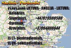 Kelionės: Lietuva - Anglija