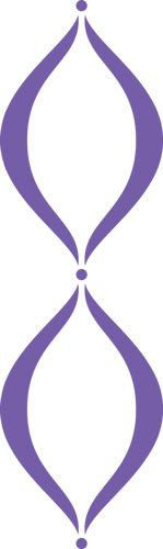 Lavender Scallop | Designer Stencils